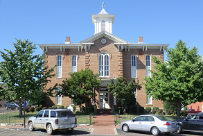 Old courthouse, downtown Pocahontas