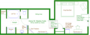 Stanley suite floorplan