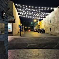 Lights Over Marr Street Pocahontas Arkansas b