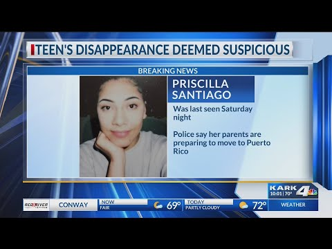 UPDATE: Missing Maumelle 17-year-old girl found - Priscilla Santiago