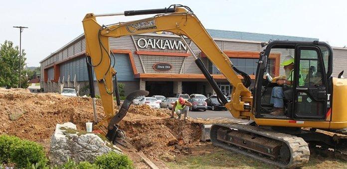 Construction underway at Oaklawn