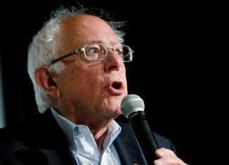 Bernie Sanders urges Walmart to boost 'starvation wages'