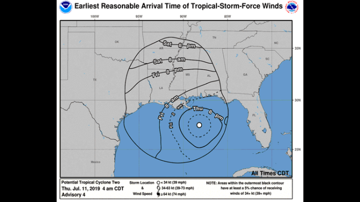 How Tropical Storm Barry will impact Arkansas this weekend