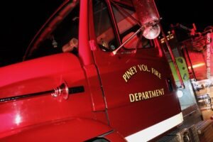 Trailer House Fire On Mountain Pine Road – GARLAND COUNTY