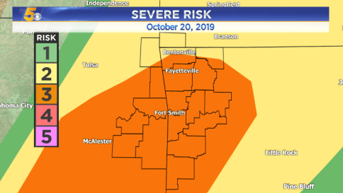 Severe Storms Likely Tonight