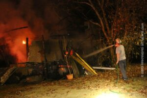 MSFD Fights House Fire On Lance Circle – GARLAND COUNTY