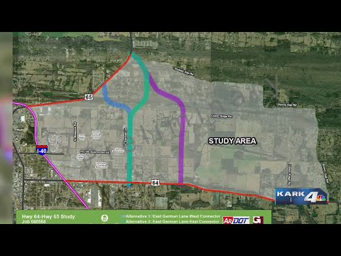 VIDEO: Conway Highway Meeting