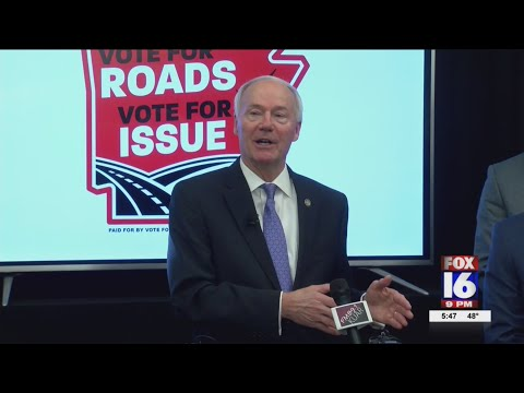 VIDEO: Governor Hutchinson kicks off campaign to focus on better roads