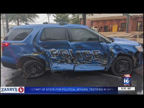 VIDEO: Two killed, officer injured in fatal crash