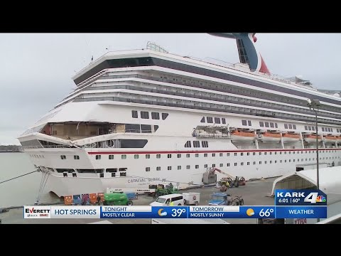 VIDEO: Arkansas passenger's speak out about Carnival Cruise Line collision