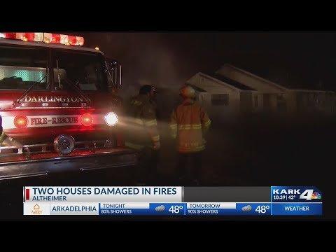 VIDEO: Fire under investigation in Altheimer