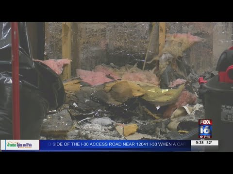 Watch: Update: Clean-up continues after a historical building caught fire in Walnut Ridge