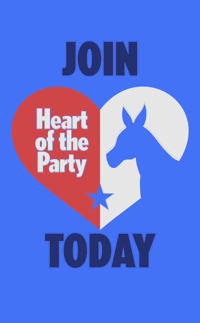 Join heart of the party.