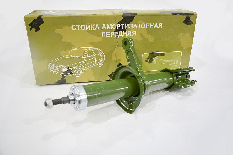 Амортизатор передний левый на ЗАЗ 1102 (стойка в сборе) масло
