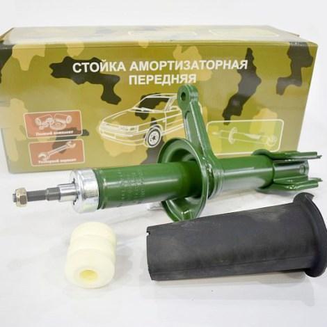 Амортизатор передний правый на ЗАЗ 1102 (стойка в сборе)масло / разборной