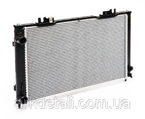 Радиатор охлаждения на ВАЗ 2170 с кондиционером HALLA (алюмин-паяный)