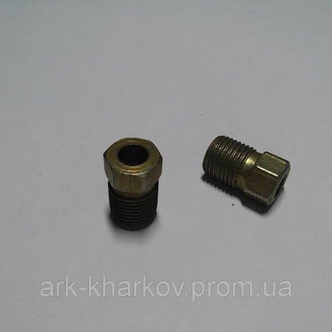 Болт-штуцер тормозной трубки  М10 х 1