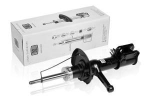 Амортизатор передний правый на ВАЗ 2190 (стойка в сборе)(газо-масло)