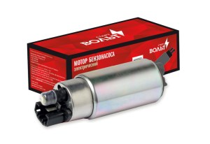 Мотор бензонасоса электрический на ВАЗ 2110/Ланос/Сенс (гладкий штуцер)