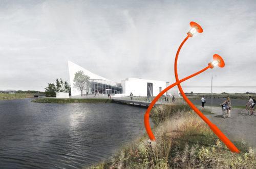 Ny kunststi fra Ishøj Station til ARKEN