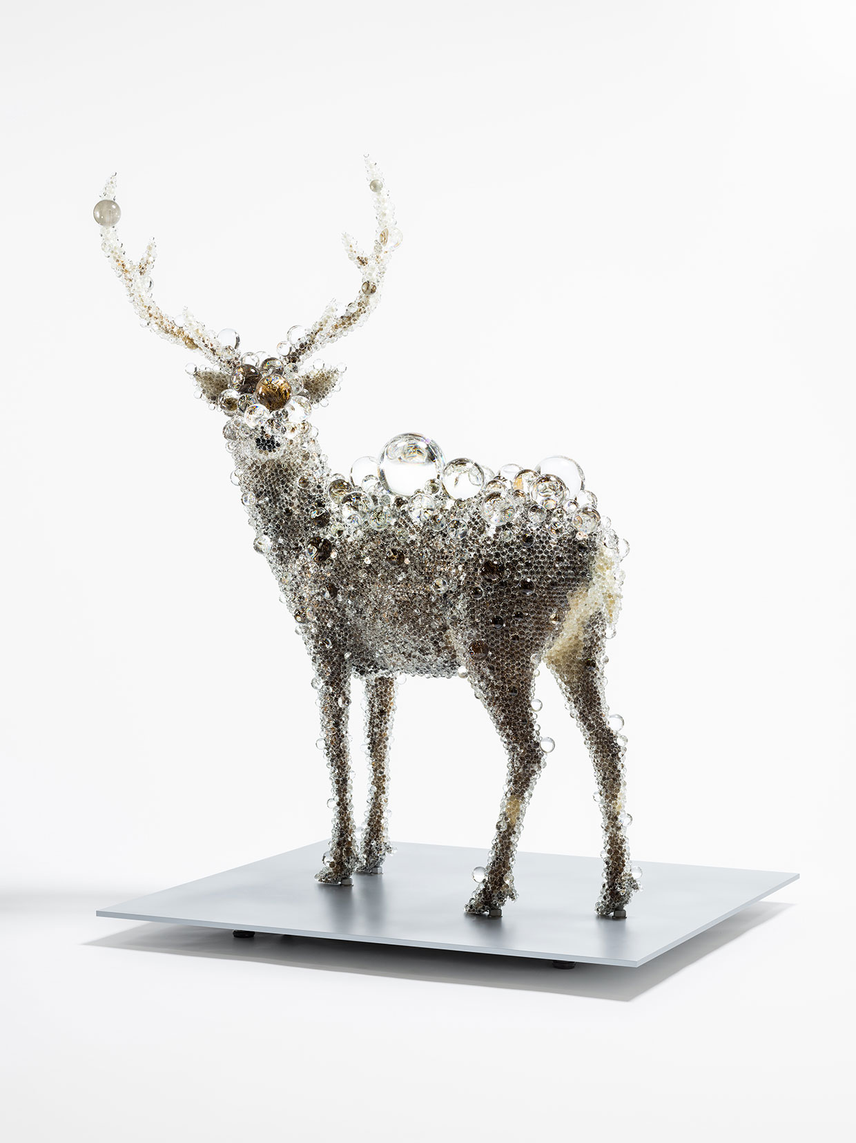 Kohei Nawa, PixCell Deer #44, 2016. Foto: Courtesy of Omer Tiroche Gallery, London