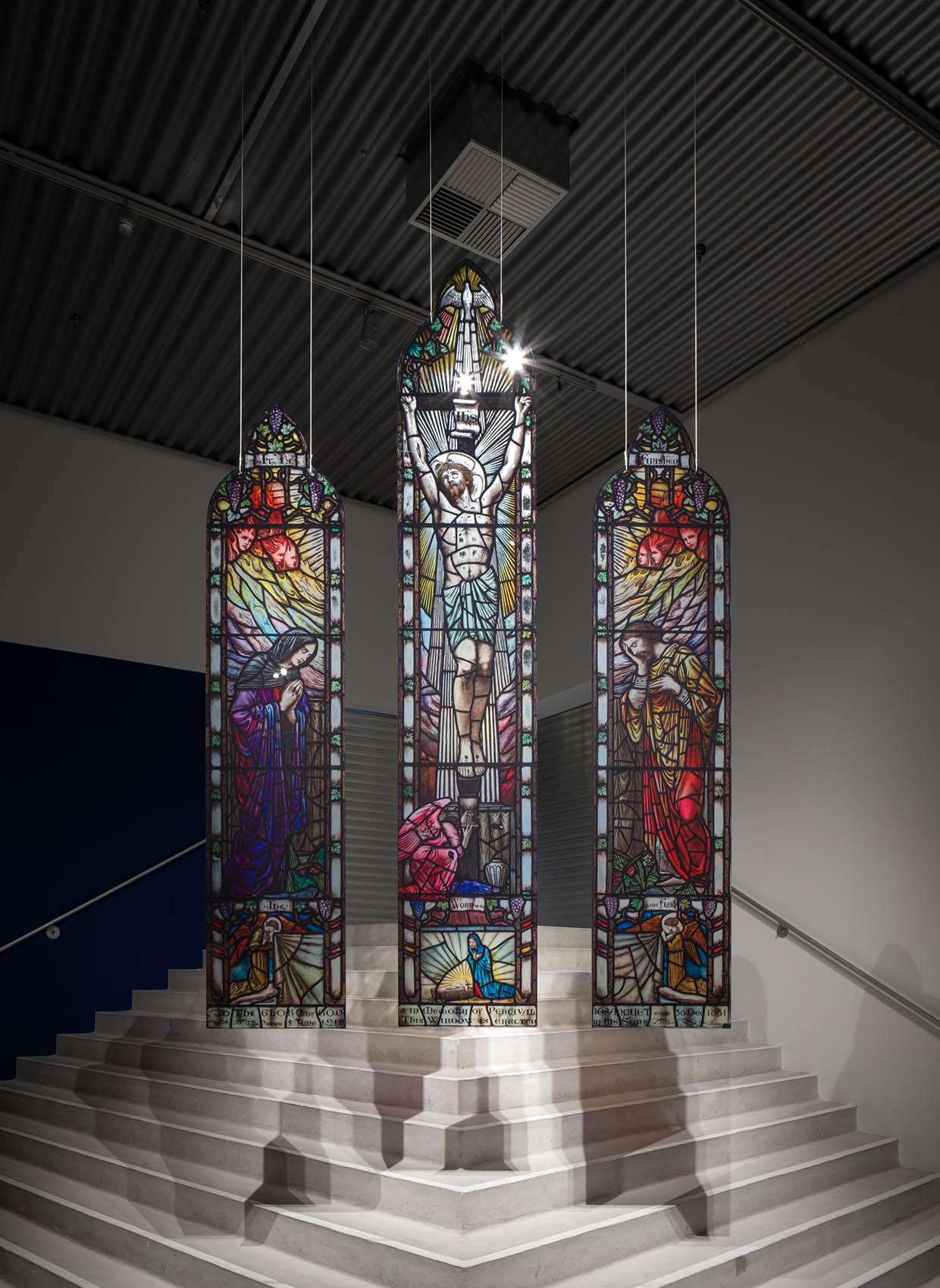 Installationsfoto Baron Rosenkrantz - Farvernes mystik. Foto: David Stjernholm