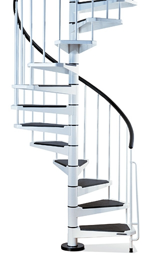 Civik Spiral Staircase Kit Metal Steel And Wood Spiral | Painting Metal Spiral Staircase | Handrail | Iron | Stair Treads | Steel | Staircase Kit