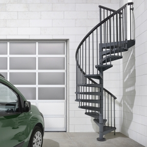 Fontanot Arke Diy Staircase Kits Online | External Spiral Staircase For Sale | Stair Treads | Staircase Ideas | Steel Spiral | Metal Spiral | Staircase Railings