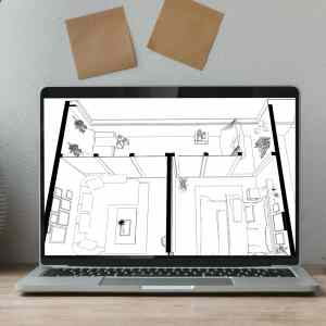 modelo 3d mueble sketchup