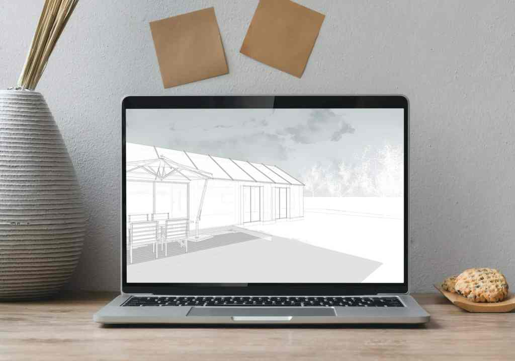 Estilo de SketchUp Cielo Nevado