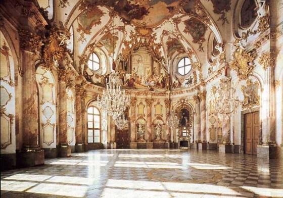 Hall del Palacio de Würzburg