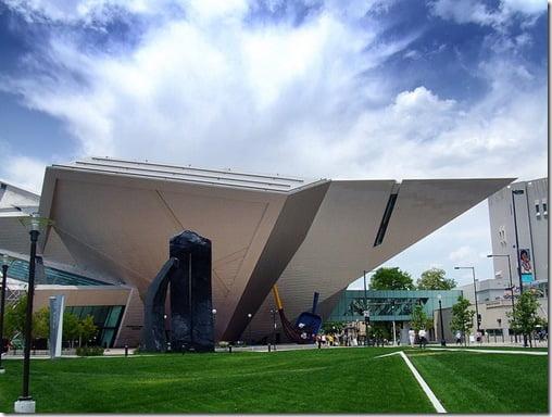 Los 12 dise os arquitect nicos modernos m s innovadores for Denver art museum concept