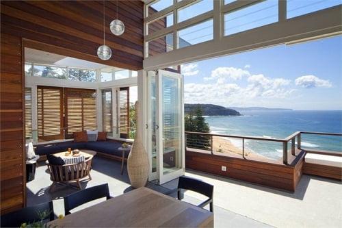 Diseño de una casa de playa. Fotos - Arkiplus.com