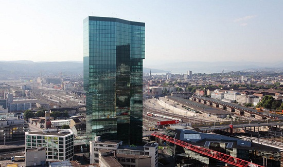 Prime Tower de Zurich