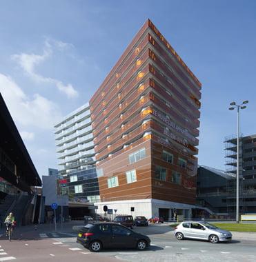 Edificio de residencias en Almere, Países Bajos