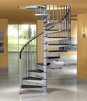 Escaleras caracol - Medidas escaleras de caracol ...