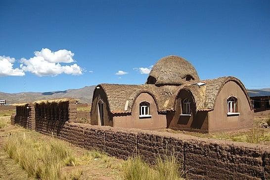 Construir con materiales naturales arkiplus - Casas de materiales ...
