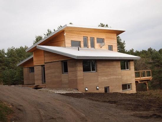 Casa hecha de tapial