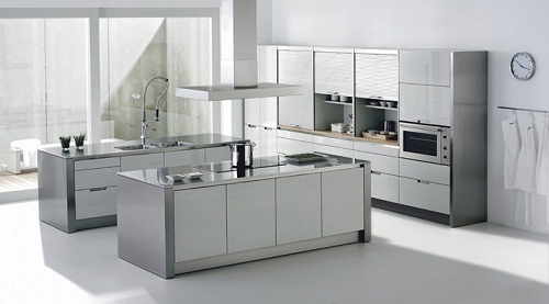 cocinas minimalistas - Cocina Minimalista