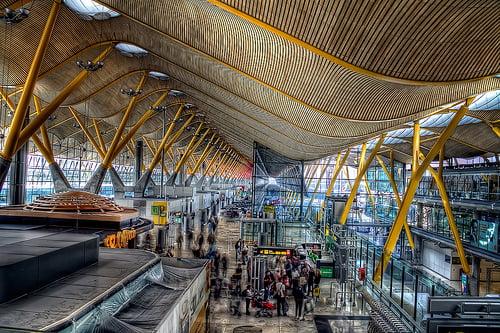 terminal T4 Barajas - Madrid