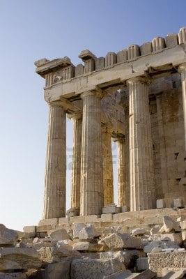columnas de marmol-partenon