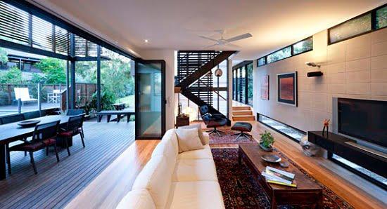 espacios abiertos casa