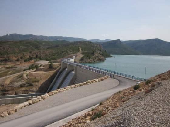 Santolea es una de las grandes infraestructuras hidráulicas de España.