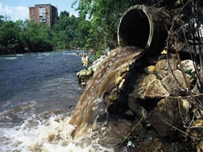 tipos de contaminacion del agua