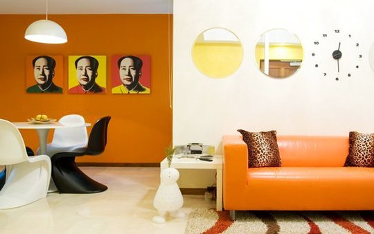 diseño interior pop art