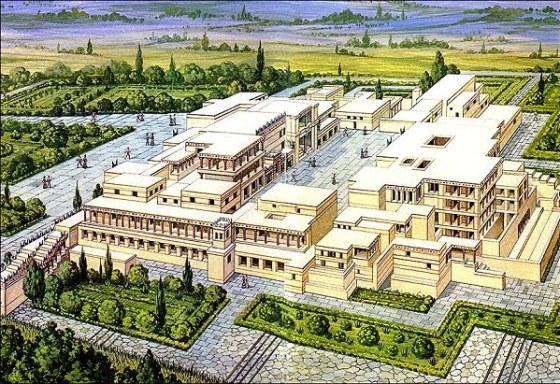 palacio del rey minos