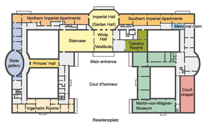 Residencia-de-Würzburg-planos