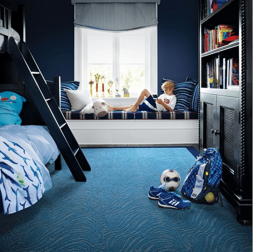 Dormitorio para ni os en azul Dormitorio para ninos