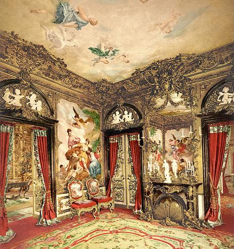sala de tapices-Linderhof