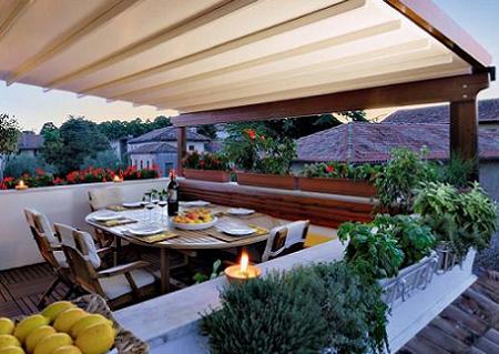 Dise os de terrazas y porches - Piso para terraza economico ...